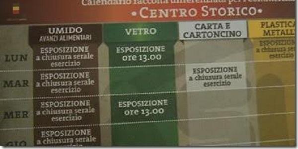 Calendario Raccolta Differenziata Napoli.Napoli La Raccolta Differenziata Arriva Nel Centro Storico